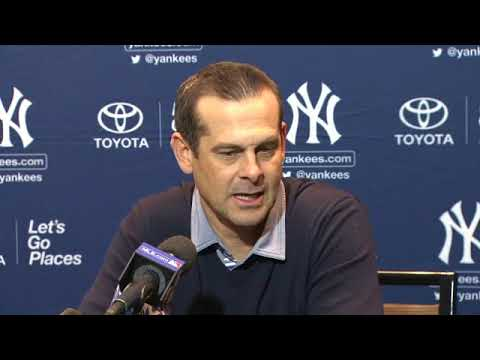 Yankees manager Aaron Boone talks relationships with Baby Bombers