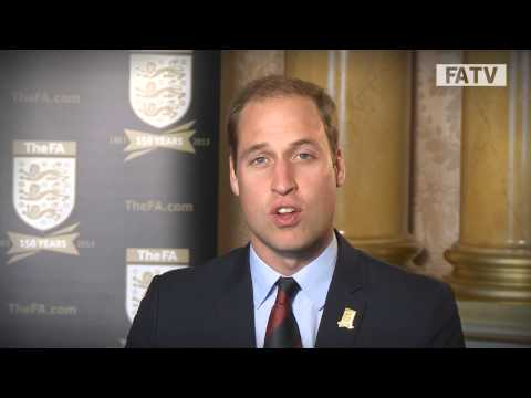 The Duke of Cambridge celebrates 150 years of the Football Association