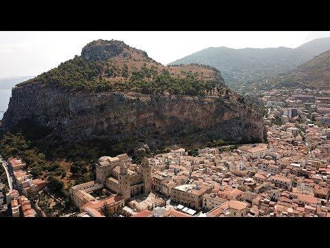 Sizilien - Cefalú Überflug DOM Aug.´19
