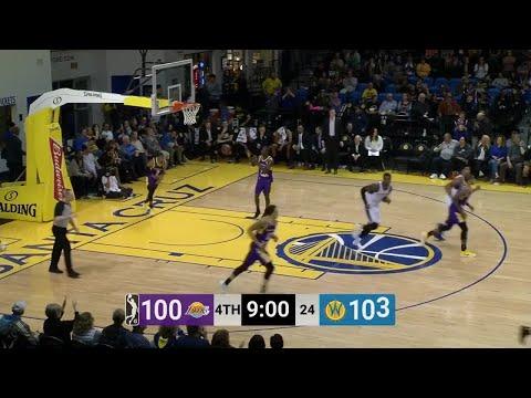 Damian Jones (16 points) Highlights vs. South Bay Lakers