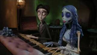 Repeat youtube video Tim Burton's Corpse Bride: Piano Duet