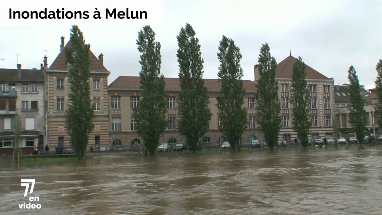 La ville de melun touch e par les inondations youtube for Piscine de saint avold