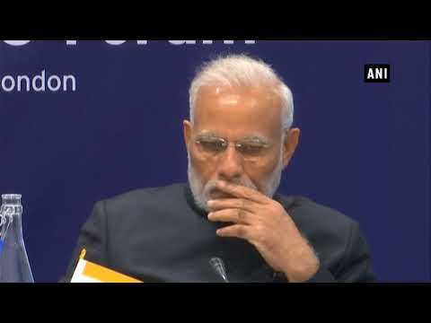 PM Modi attends India-UK CEO Forum at Francis Crick Institute