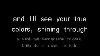 True colors - Phil Collins. Traducida al español