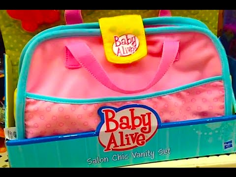 Baby Alive Quot Salon Chic Vanity Set Quot Baby Alive Doll