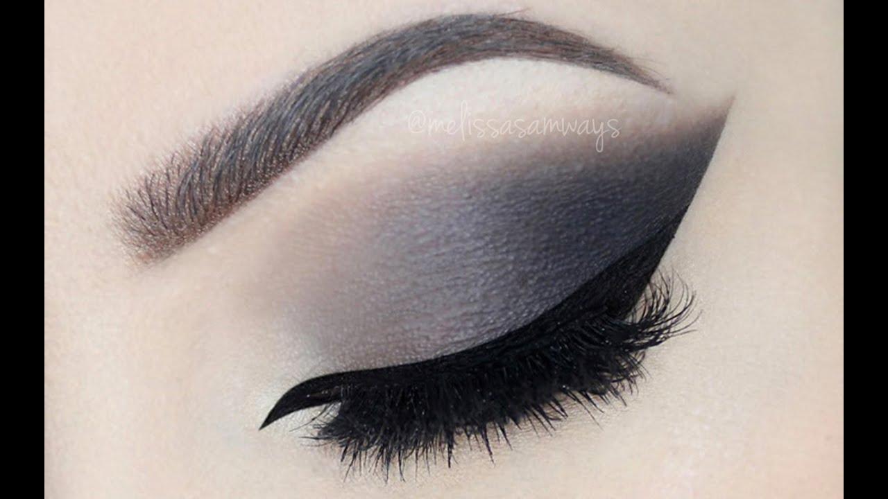 Grey Smokey Eye With Nude Lips ™� Make Up Tutorial (english)