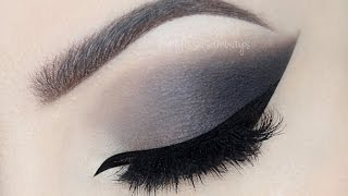 ♡ Grey Smokey Eye Make Up Tutorial | Melissa Samways ♡