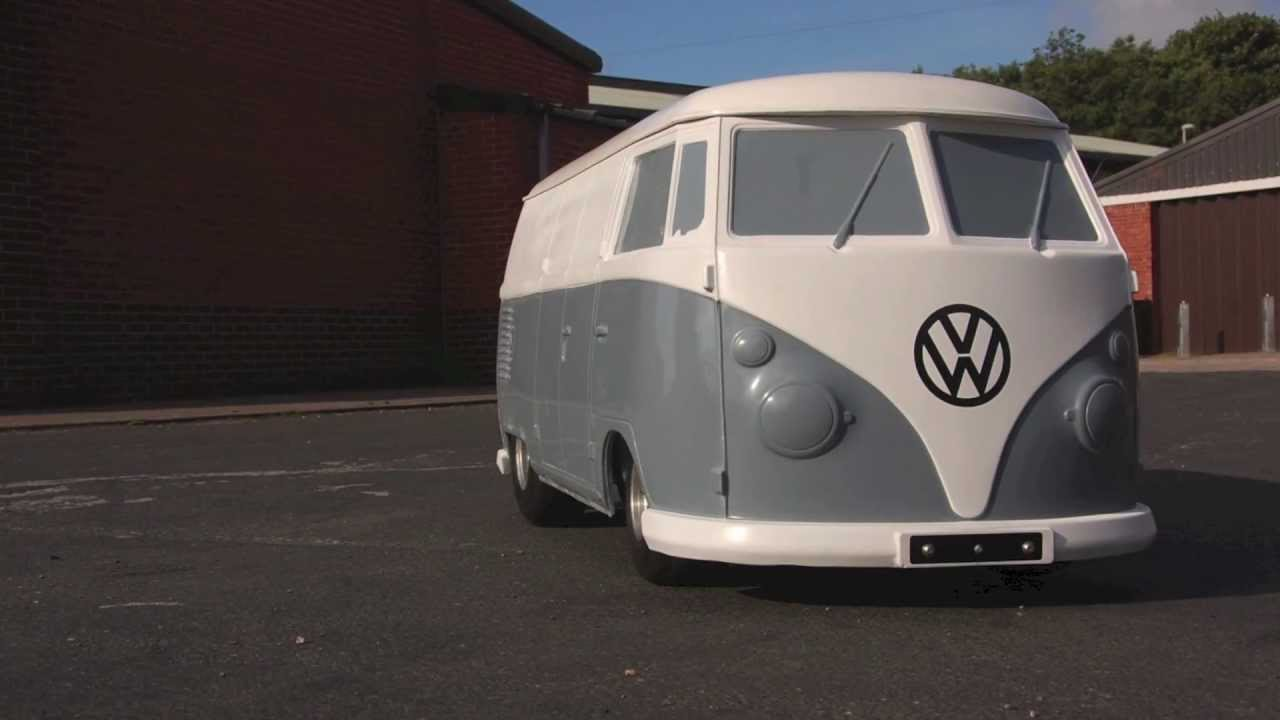 VW Split Screen Camper Tot Rod Test - 420cc 16hp Volkswagen Splitty - YouTube