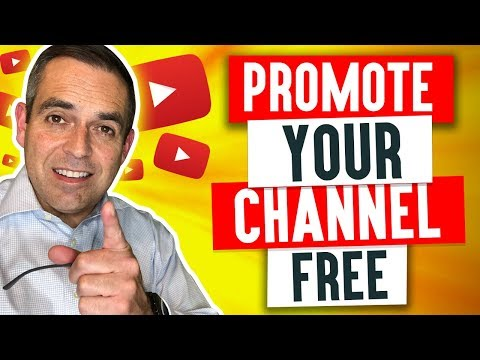 👑How To Promote Your Youtube Channel..FREE!