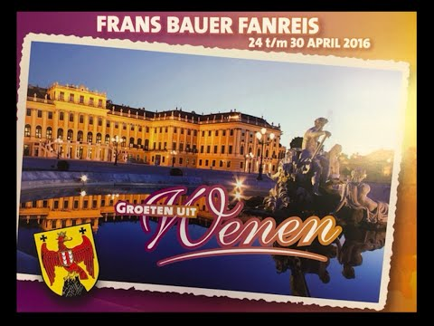 De Groeten Uit Wenen I Frans Bauer Youtube