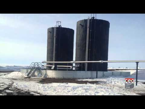 Video Interview with Chris Cooper, President and CEO of Aroway Energy
