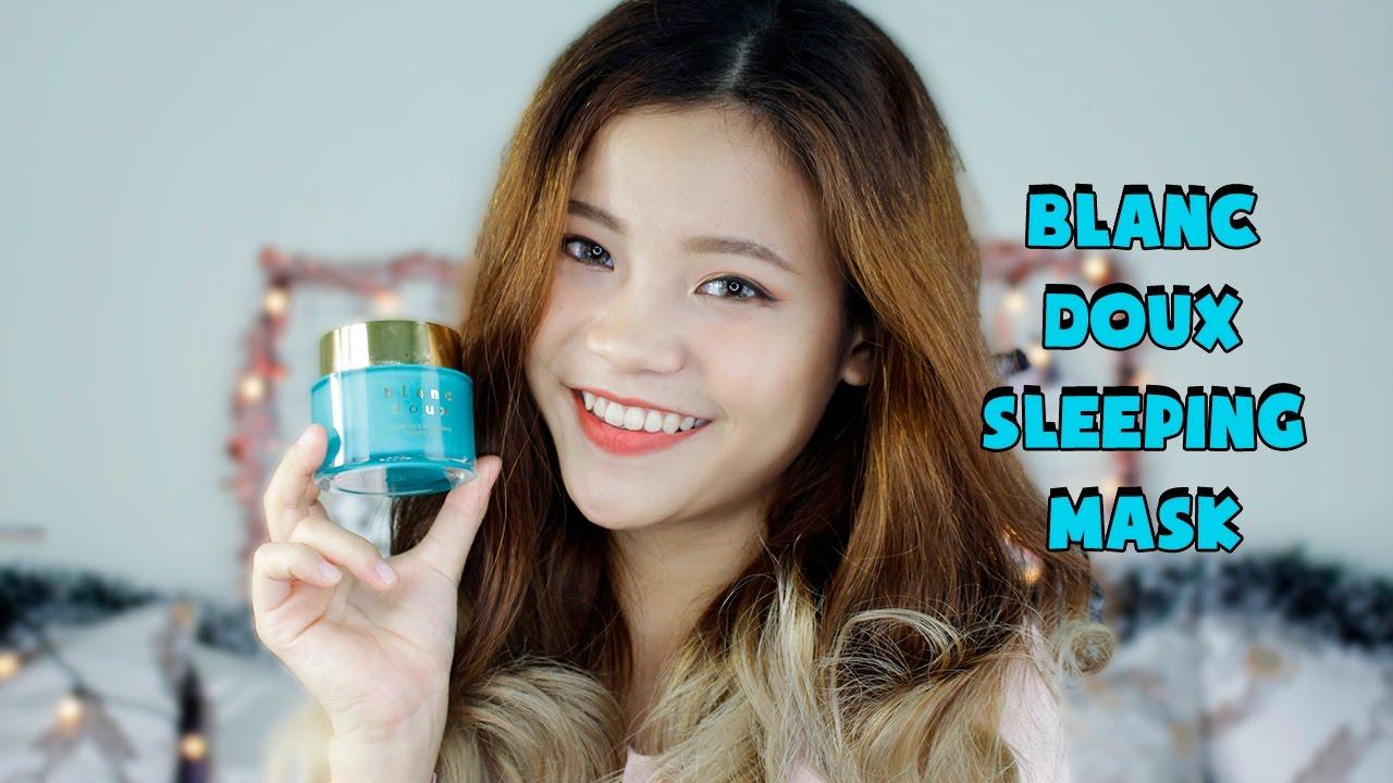 [REVIEW] BLANC DOUX SLEEPING MASK | Mặt nạ ngủ cấp ẩm Hàn Quốc | Ashley Van
