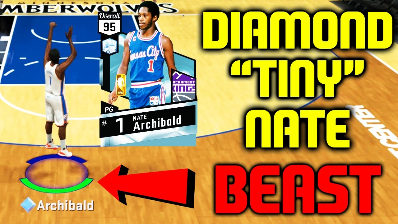 DIAMOND NATE TINY ARCHIBALD IS A BEAST BEST STATS NBA 2K17