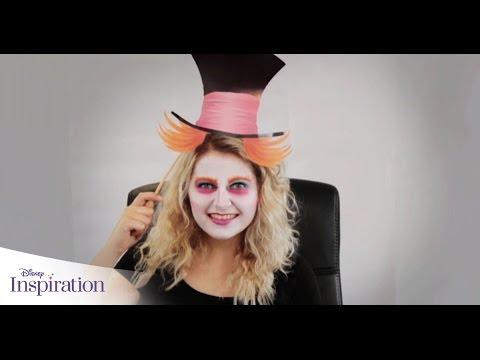 Disney inspiration le maquillage du chapelier fou disney be youtube - Maquillage chapelier fou ...