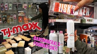 HIGH END MAKEUP FINDS AT TJ MAXX   COME SHOPPING WITH ME!  ohmglashes