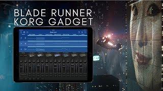 Sons de Blade Runner End Titles no Korg Gadget para iPad