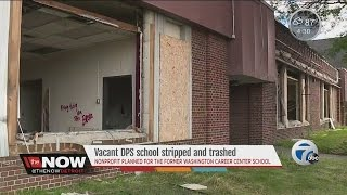 Vacant DPS school stripped and trashed