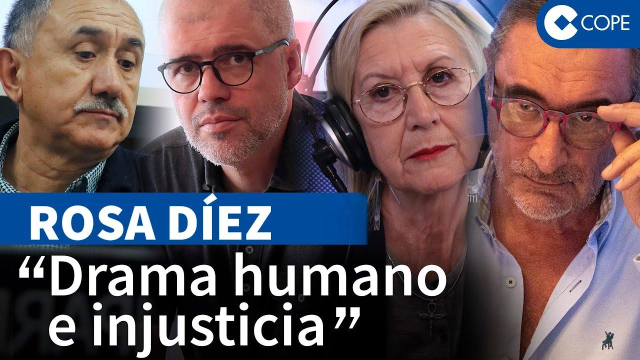 Rosa Díez destapa las vergüenzas de los sindicatos