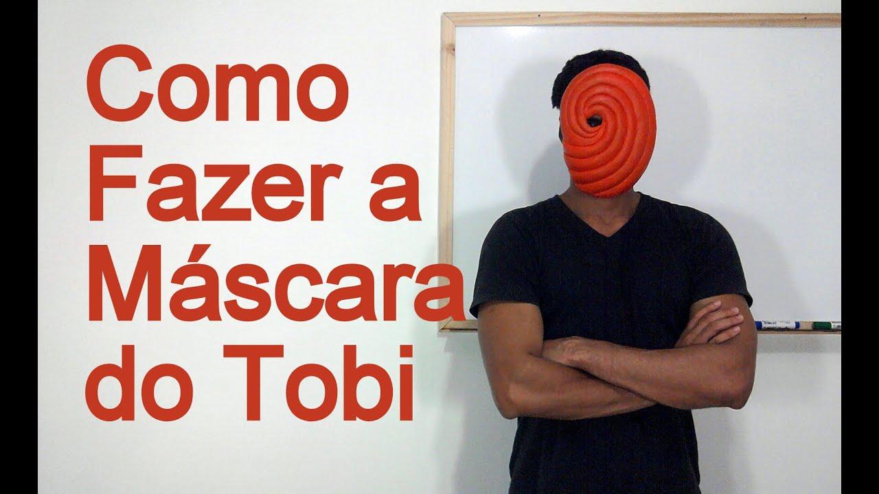 Como Fazer a Máscara do Tobi para o seu Cosplay - Dicas de ...