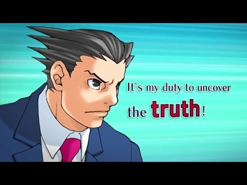 Image result for Phoenix Wright: Ace Attorney Trilogy (3DS) – English Logo & Trailer