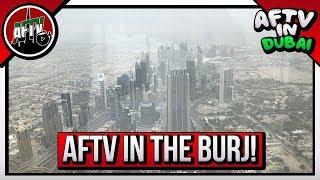 Arsenal Heat Up Dubai | AFTV LIVE From Burj Khalifa