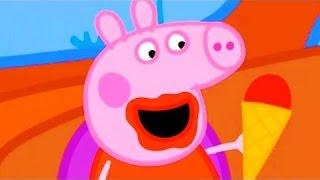 Найти конец радуги Свинка Пеппа