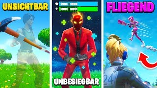 With this BUG you are UNSICHTBAR in FORTNITE! (3 NEW GLITCHES)