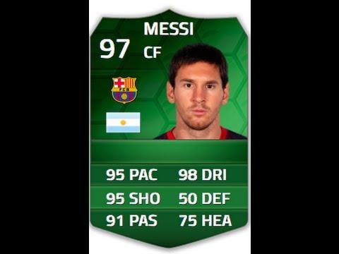 Messi Fifa 14 Card FIFA 14- Insane...