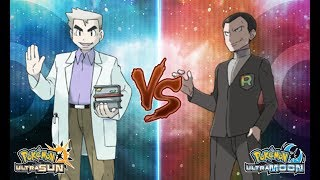 Pokemon Ultra Sun and Ultra Moon: Professor Oak Vs Giovanni