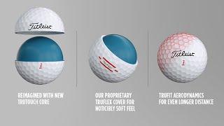 Video: Titleist TruFeel - piłki golfowe białe