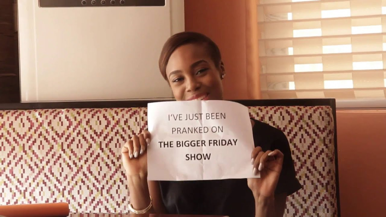 Download Maria Okan loses her cool as she gets pranked on MTV Base Bigger Friday Show