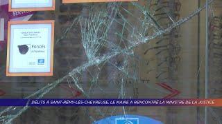 Yvelines | Délits à Saint-Rémy-lès-Chevreuse, le maire a rencontré la ministre de la justice