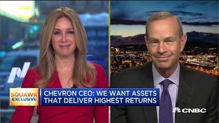 Watch CNBC's full interview with Chevron CEO Michael Wirth