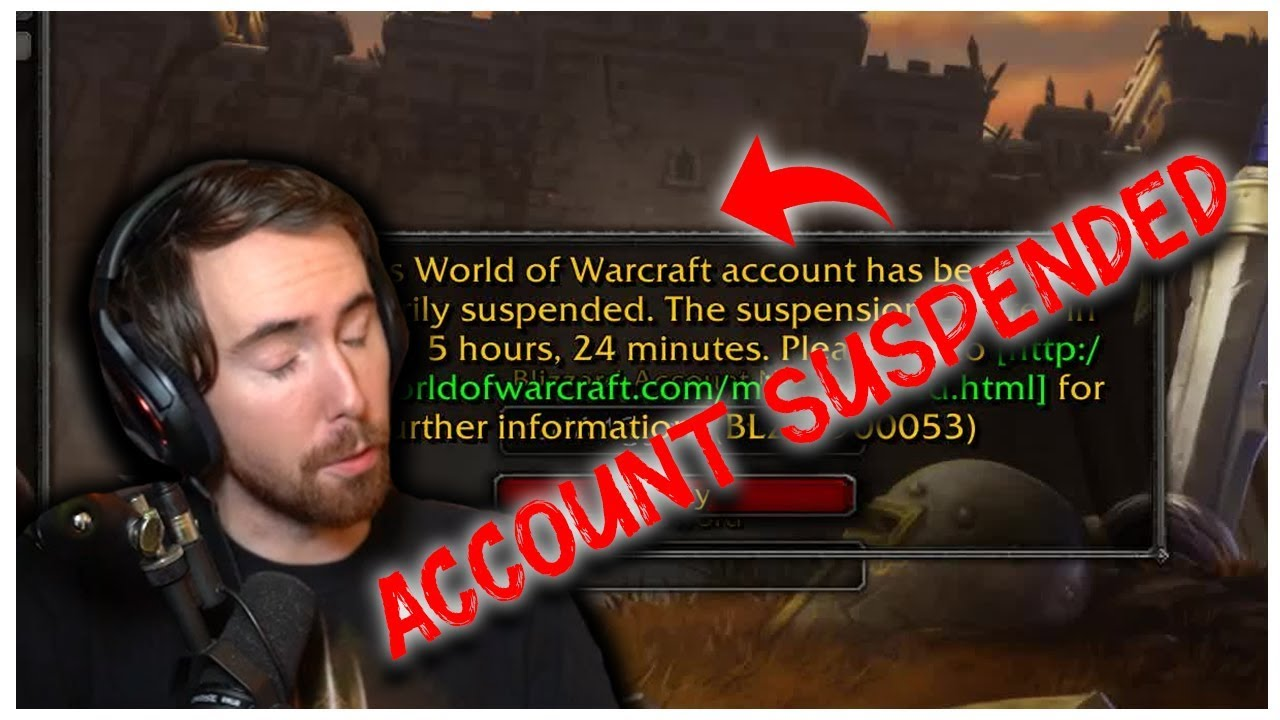 ASMONGOLD'S ACCOUNT GOT SUSPENDED