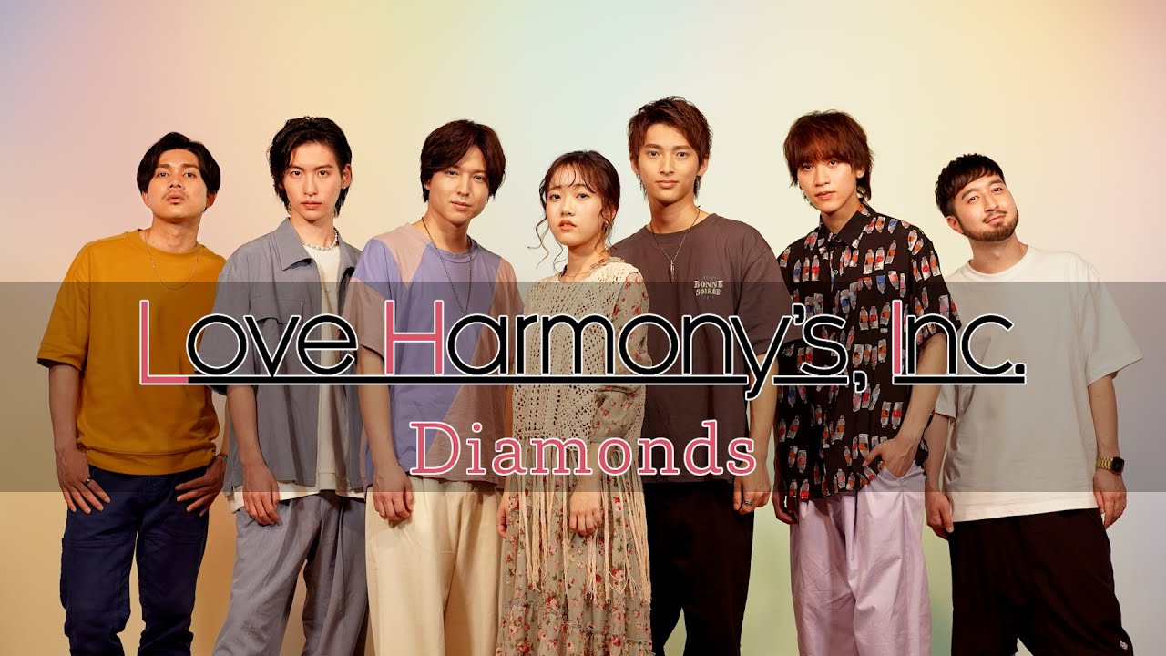 Love Harmony's, Inc.『Diamonds』Official Music Video