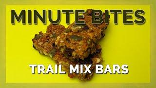 Minute Bites - Trail Mix Bars