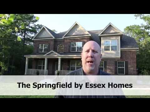 Springfield plan by Essex Homes Video Tour - Built in Columbia, Lexington and Irmo, SC