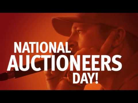 National Auctioneers Day 2018
