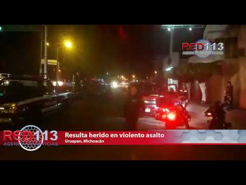 VIDEO Es baleado al oponerse al robo de su camioneta