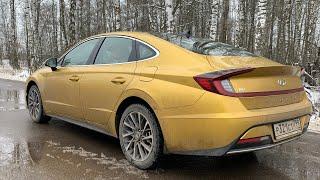 Взял Hyundai Sonata - еду без рук по трассе, автопилот!!!