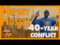 Rollin 60s & Eight Tray Gangster Crips unite, first time in 40 years for Nipsey Hussle