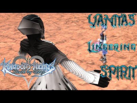 Kingdom Hearts Birth By Sleep: Secret Boss - Vanitas Lingering Spirit