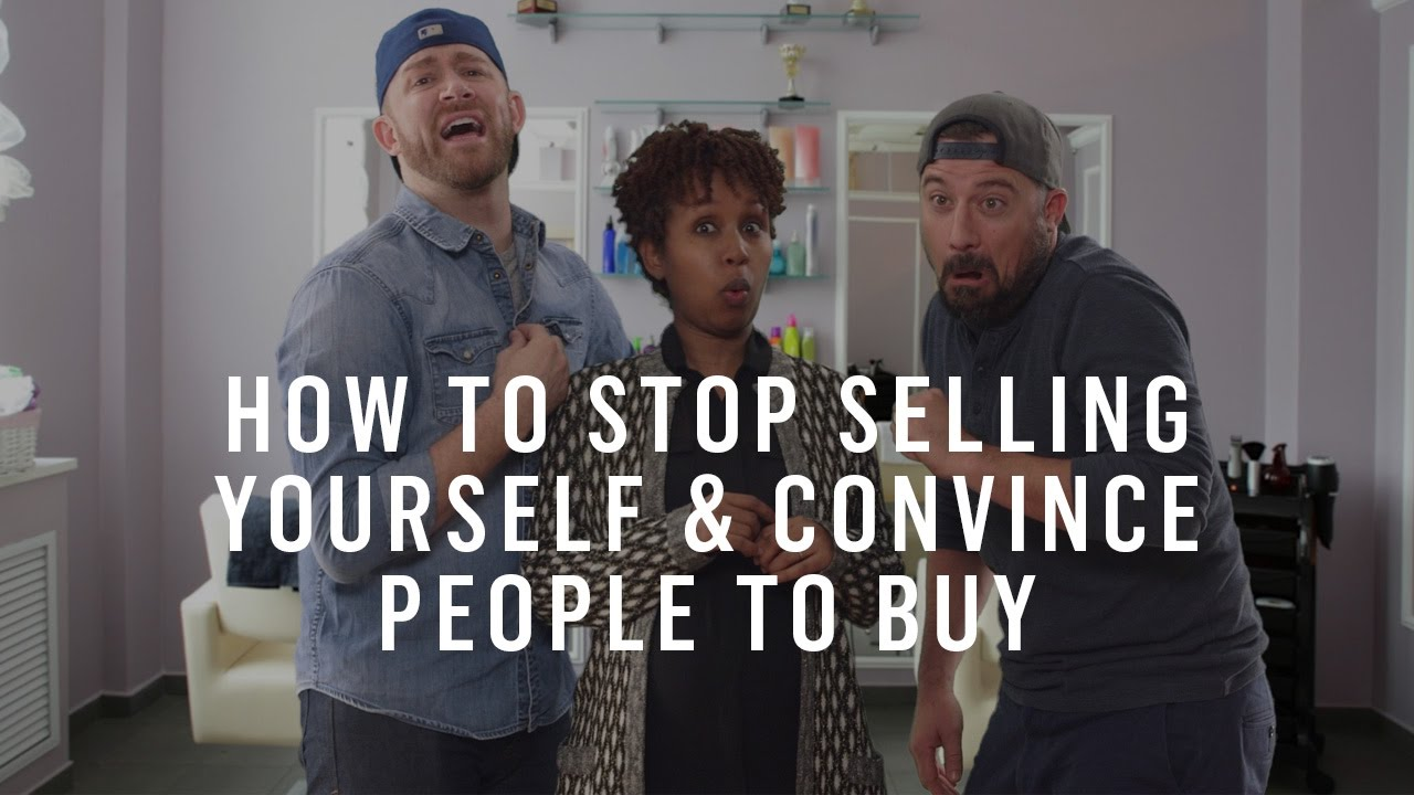 Bernadette Penotti how to stop selling yourself & convince people to buy