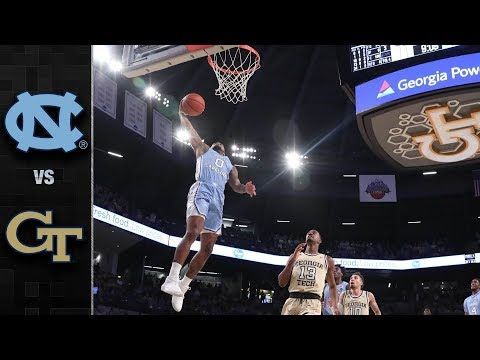 North Carolina vs. Georgia Tech Basketball Highlights (2018-19)