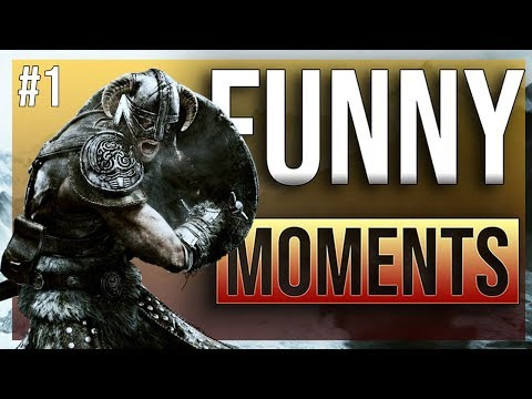 THE ELDER SCROLLS V: SKYRIM - funny twich moments ep.1 |