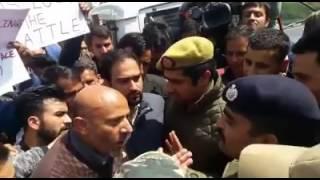 Engineer RASHID PLEADING BEFORE JK POLICE