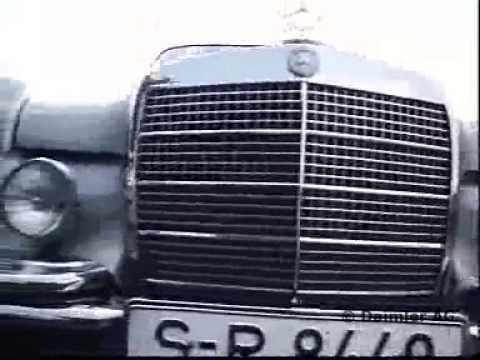 VID7293 01 copyright DaimlerAG - DB Video 27 W109/108 Dauerschleife