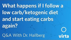 Dr. Sarah Hallberg: What happens if I follow a low carb/ketogenic diet and start eating carbs again?