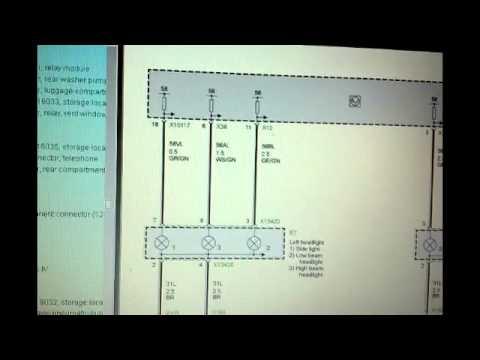bmw x5 e53 lcm wiring diagram haltech interceptor lamp control module troubleshooting power and ground