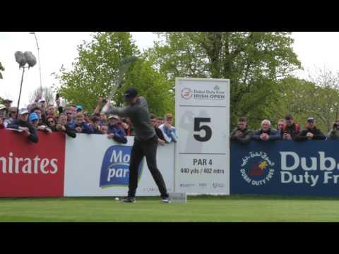 Bank of Ireland highlights of the Pro-Am  Dubai Duty Free Irish Open 2016